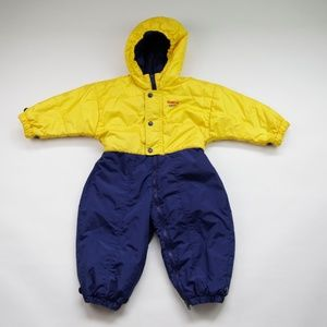 OshKosh B'Gosh One Piece Hooded Snowsuit 24 Months